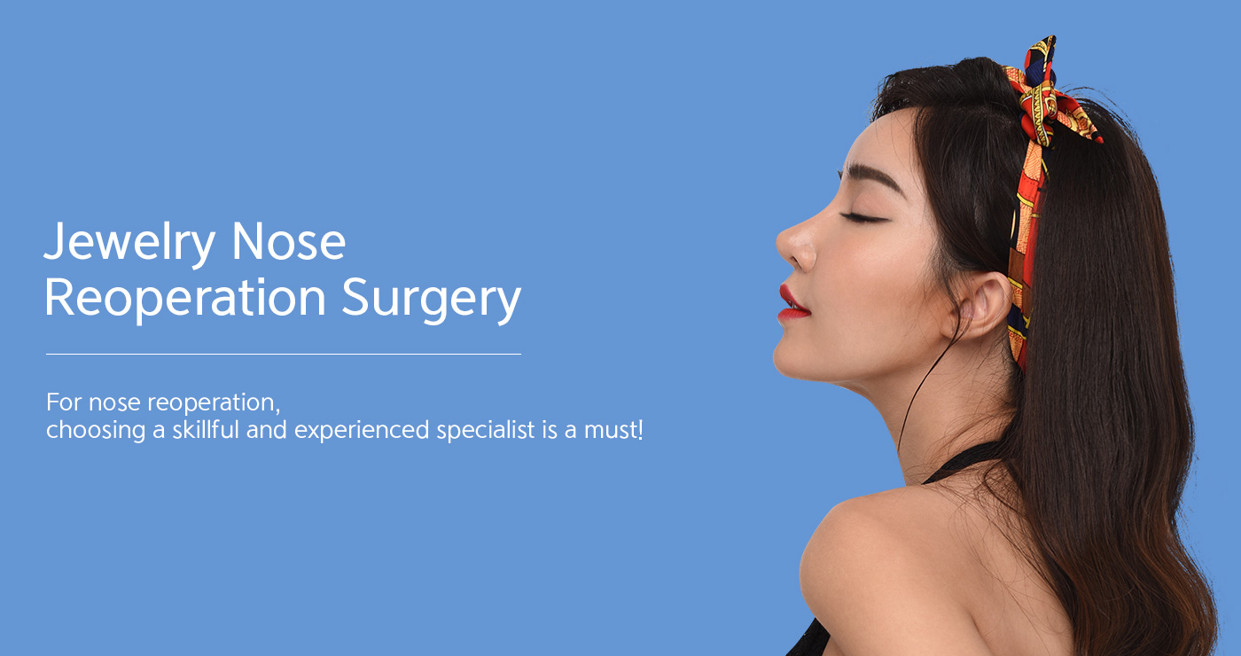 Jewelry Nose Reoperation Surgery