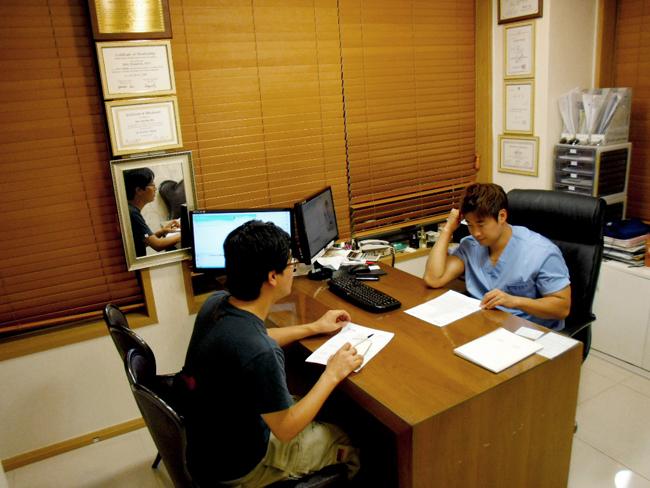 8월 10일 신용원원장님 스카이데일리 취재!