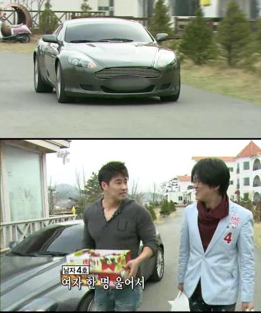 SBS 짝 5기 잠깐 등장한 남자4호 성형외과의사 '애마' 관심집중